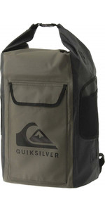 2020 Quiksilver Sea Stash II 35L Drybag Backpack EQYBP03562 - Four Leaf Clover