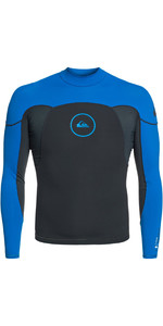 2019 Quiksilver Syncro Series 1mm Long Sleeve Neoprene Top Graphite / Deep Cyanine EQYW803008