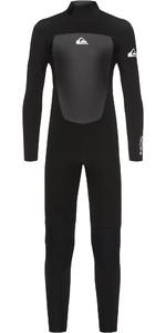 2020 Quiksilver Junior Boys Prologue 4/3mm Back Zip Wetsuit Black EQBW103038