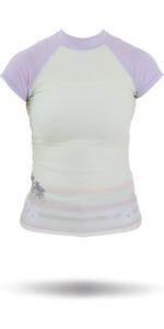 Rip Curl Core Bali Rash Vest in Green / Purple W7305W