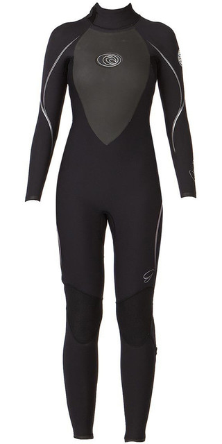 Rip Curl Ladies G Bomb E3 5/3mm Wetsuit Black / Silver Wsmocg Picture