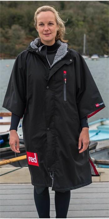 2020 Red Paddle Co Pro Change Jacket Short Sleeve - Black / Grey
