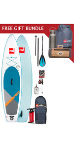 2019 Red Paddle Co Sport 11'3 Inflatable Stand Up Paddle Board Package + Free Gift Bundle