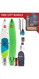 2019 Red Paddle Co Voyager 13'2 Inflatable Stand Up Paddle Board Package + Free Gift Bundle