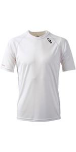 2019 Gill Race Short Sleeve T-Shirt WHITE RS06