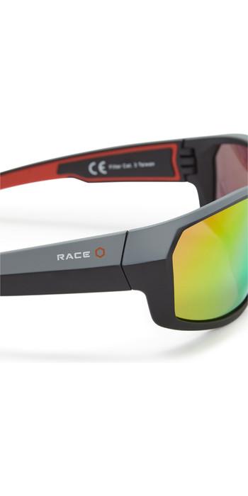 2021 Gill Race Fusion Sunglasses Tango / Orange Mirror RS26