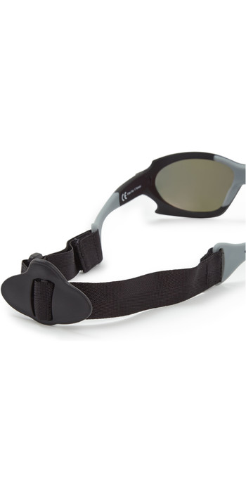 2021 Gill Race Ocean Sunglasses Black / Orange RS27