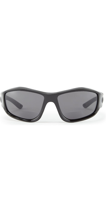 2020 Gill Race Vision Bi-focal Sunglasses Black / Smoke RS28