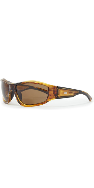 2019 Gill Race Vision Bi-focal Sunglasses Woodgrain / Amber RS28