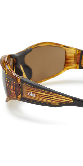 2021 Gill Race Vision Bi-focal Sunglasses Woodgrain / Amber RS28