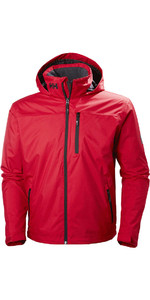 2019 Helly Hansen Hooded Crew Mid Layer Jacket Red 33874