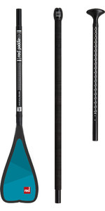 Red Paddle Co Midi Alloy 3-Piece Paddle Black 160CM-200CM