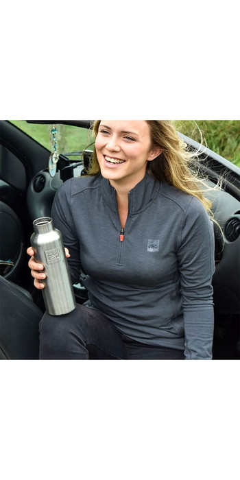 2021 Red Paddle Co Original Womens Performance Long Sleeve Top Grey