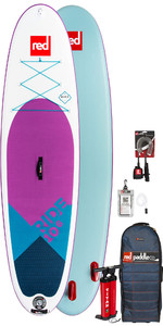 2019 Red Paddle Co Ride 10'6 Special Edition Inflatable Stand Up Paddle Board Package - NO PADDLE