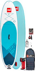 2019 Red Paddle Co Ride 10'8 Inflatable Stand Up Paddle Board Package - No Paddle