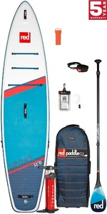 2021 Red Paddle Co Sport 11'0 Touring Stand Up Paddle Board, Bag, Pump, Paddle & Leash - Carbon 100 Package