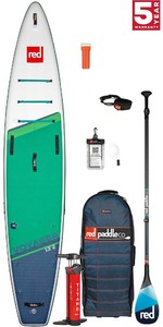 2021 Red Paddle Co Voyager 13'2 Touring Stand Up Paddle Board, Bag, Pump, Paddle & Leash - Carbon 100 Package