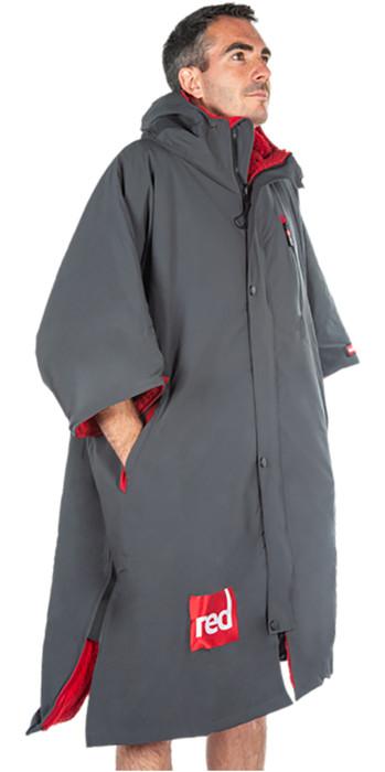 2021 Red Paddle Co Original Short Sleeve Pro Change Jacket Grey