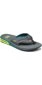 2021 Reef Fanning Sliders CI3630 - Grey Volt