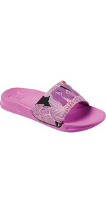 2021 Reef Kids One Sliders CI3655 - Purple Blossom