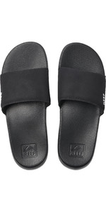 2021 Reef One Slide Flip Flops RF0A3OND - Black