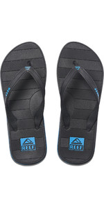 2021 Reef Switchfoot LX Flip Flops RF0A2YFU - Black / Blue