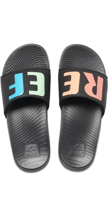 2020 Reef Womens One Slide Sandals RF0A3YN7 - Rainbow