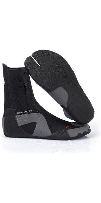 2021 Rip Curl Dawn Patrol 3mm Split Toe Neoprene Boots BLACK WBO7AD