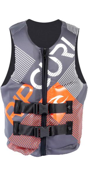 Rip Curl Dawn Patrol PFD3 Buoyancy Vest CHARCOAL WWK4DM