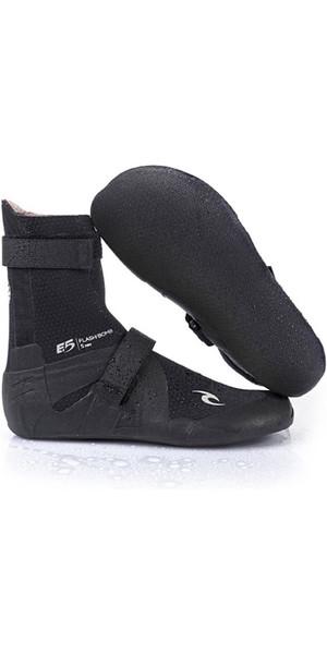 2019 Rip Curl Flashbomb 3mm Split Toe Neoprene Boot BLACK WBO7HF