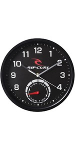 2020 Rip Curl Tide Wall Clock Black A1101