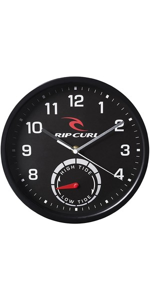 2018 Rip Curl Tide Wall Clock Black A1101