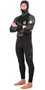 2019 Rip Curl Flashbomb Heatseeker 6/4mm Zip Free Wetsuit BLACK WST8WF