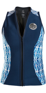 Rip Curl G Bomb 1mm Sleeveless Neoprene Vest Blue WVE6BW