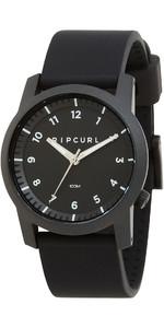 2021 Rip Curl Cambridge Silicone Watch Black A3088