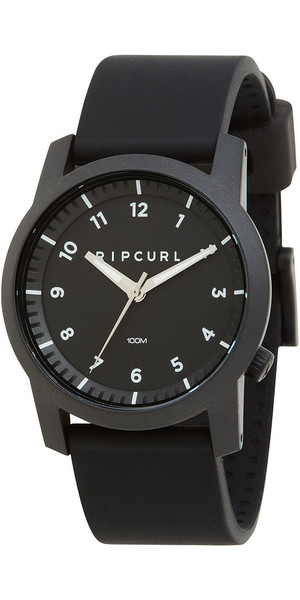 2018 Rip Curl Cambridge Silicone Watch Black A3088