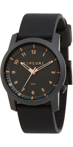 2018 Rip Curl Cambridge Silicone Watch Rose Gold A3088
