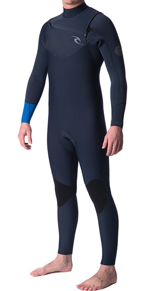 2018 Rip Curl Dawn Patrol 5/3mm Chest Zip Wetsuit BLUE WSM7GM