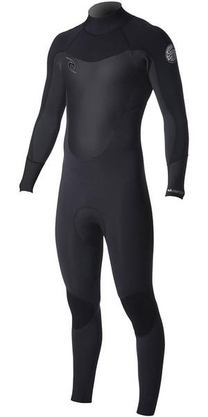 2018 Rip Curl Dawn Patrol 5/3mm GBS Back Zip Wetsuit Black WSM7FM