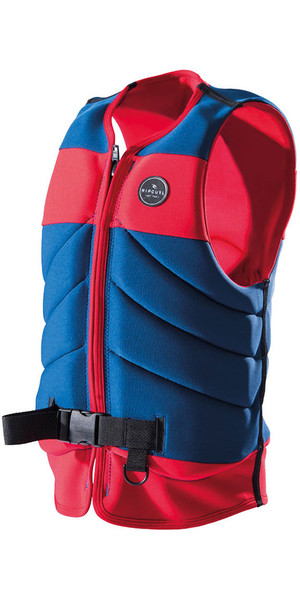 2018 Rip Curl Dawn Patrol Wake Impact Vest Red WK17DM