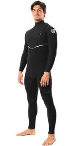 2021 Rip Curl Mens E-Bomb 4/3mm Ltd Edition E7 Zip Free Wetsuit WSMYBE - Black