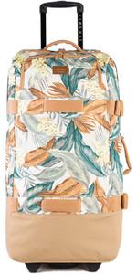2020 Rip Curl F-Light Global Tropic Sol Wheeled Bag LTRJL1 - White