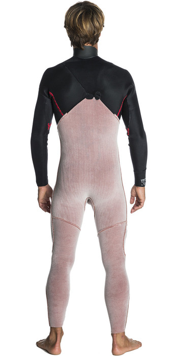 Rip Curl Flashbomb 4/3mm Zip Free Wetsuit BLACK WSM7SF