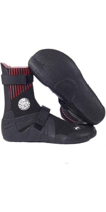 2021 Rip Curl Flashbomb 5mm Narrow Hidden Split Toe Wetsuit Boots WBOYDF - Black