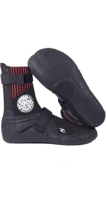 2021 Rip Curl Flashbomb 7mm Round Toe Wetsuit Boots WBOYJF - Black
