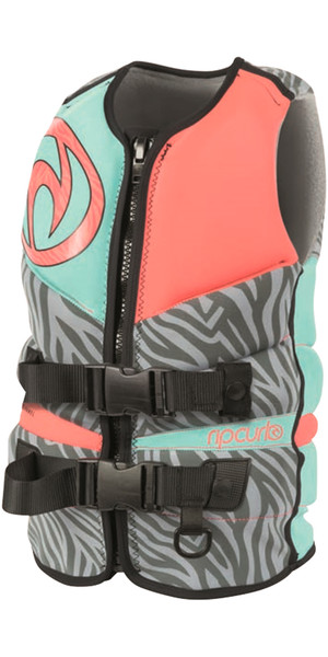 Rip Curl Ladies Flashbomb PFD3 Wake Vest PINK WKE4AW