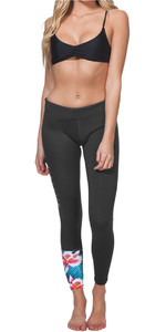 Rip Curl G Bomb Womens 1mm SUP Long Neoprene Trousers BLACK SUB WPA7BW