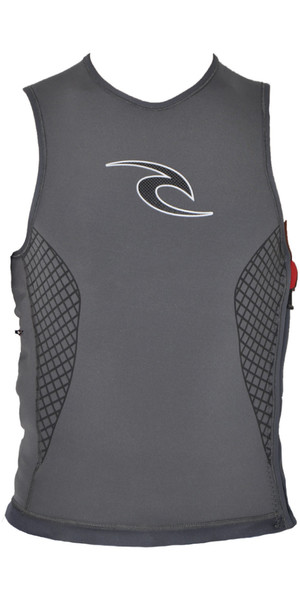 Rip Curl H-Bomb Heated Vest Charcoal WVE5HM