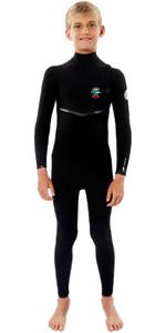 2020 Rip Curl Junior Flashbomb 5/3mm Zip Free Wetsuit WSMYZB - Black