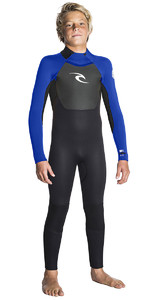Rip Curl Junior Omega 5/3mm GBS Wetsuit BLUE WSM5GB